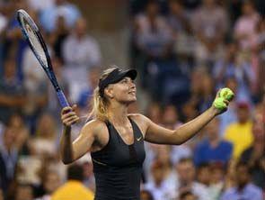 US Open. Шарапова пробилась в полуфинал