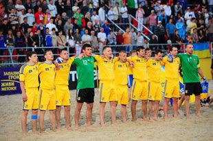Пляжный футбол. Венгрия – Украина – 2:3
