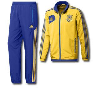 ab5b0cda Костюм adidas сборной Украины с большой скидкой + футболки!