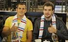 Флореску и Шахов посмотрели матч Карпаты - Арсенал в баре