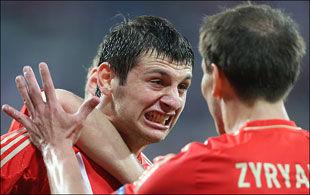 Алан ДЗАГОЕВ: «Прошу прощения у команды и зрителей»