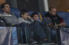 Кличко посетил матч Динамо