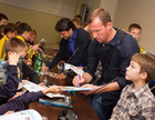 Футболисты Металлиста встретились с воспитанниками академии