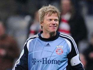 Вратарь немецкой сборной по футболу оливер