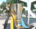 Луганск в ожидании большого футбола