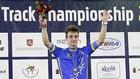 Украинец завовевал серебро на чемпионате Европы по велотреку