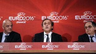 Подготовка к ЕВРО-2016 началась со встречи в Париже