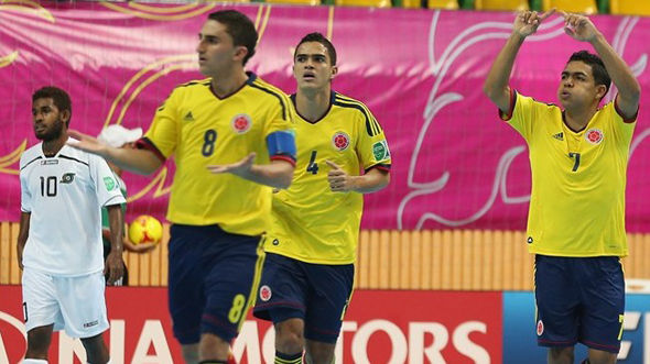 ЧМ-2012. Группа F. Колумбия - Соломоновы Острова - 11:3