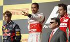 Формула 1: Хэмилтон побеждает, Феттель и Алонсо на подиуме!