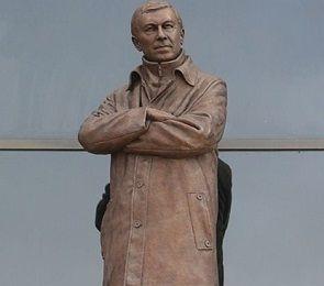 В честь сэра Алекса Фергюсона поставили памятник