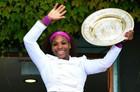 Серена Уильямс признана лучшей теннисисткой года