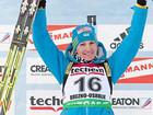 Елена Пидгрушная вторая в спринтерской гонке!
