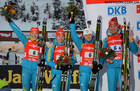 Украина берет серебро в эстафетной гонке!
