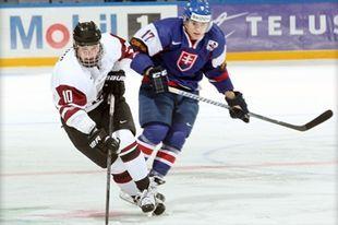 ЧМ (U20) Словакия - Латвия - 5:3