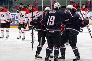 ЧМ (U20) Канада - США - 1:5 + ВИДЕО
