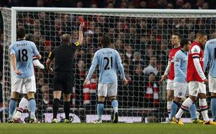 Арсенал - Манчестер Сити - 0:2 + ВИДЕО