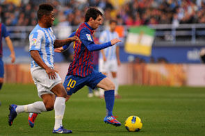 Малага - Барселона - 1:3 + ВИДЕО