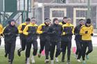 Футболисты Александрии встретились с новым владельцем клуба