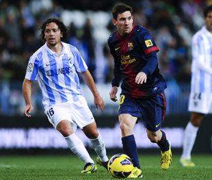 Copa del Rey. Барселона - Малага - 2:2