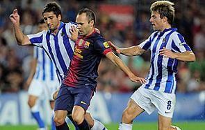 Барселона впервые в сезоне проигрывает в Примере + ВИДЕО