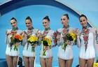 Сборная Украины третья в упражнении с булавами + ФОТО