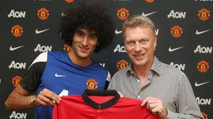 Манчестер подписал Феллайни в последний день трансферов