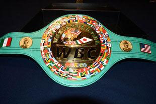 Чемпионский пояс WBC сделали из двух килограммов золота