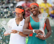 Серена Уильямс защитила чемпионский титул в Майами