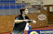 Украинец завоевал бронзу на Кубке Европы по бадминтону