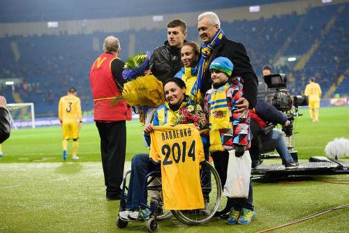 Харьковских паралимпийцев чествовали на ОСК Металлист