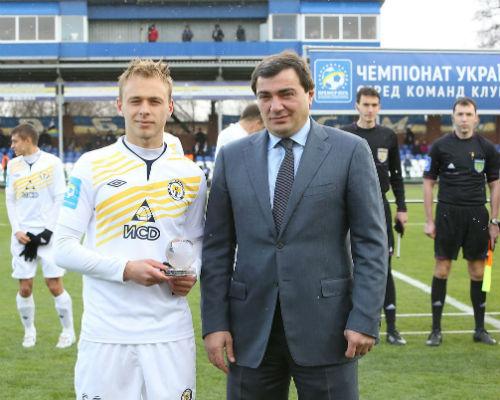 Болбат получил награду лучшего молодого игрока Украины!