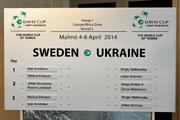 Стаховский и Арвидссон начнут матч Украины и Швеции