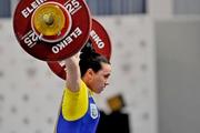 Паратова завоевала серебро на ЧЕ по тяжелой атлетике