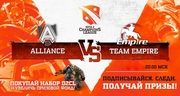 Empire против Alliance в борьбе за третье место на D2CL