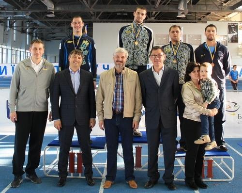 Сильнейшим шпажистом Украины стал Виталий Медведев