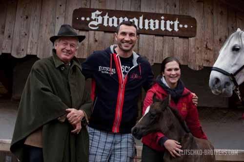 Кличко завершил тренировочный лагерь в Гоинге