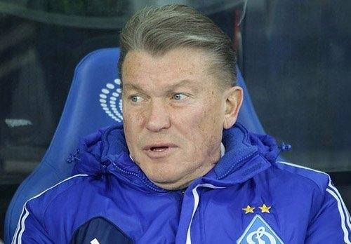 Блохин стал худшим тренером Динамо за последние 22 года
