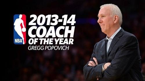 Попович признан лучшим тренером НБА в сезоне-2013/14