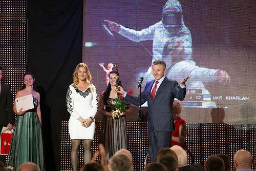 Бондаренко, Пидгрушная и Харлан - лучшие спортсмены 2013-го!