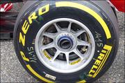 В Ferrari применили новинку на передних колесных дисках