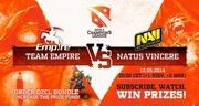 Natus Vincere против Team Empire на D2CL