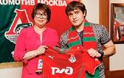 Локомотив подписал контракт с Касаевым