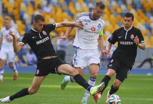 Динамо завершило сезон победой над Зарей