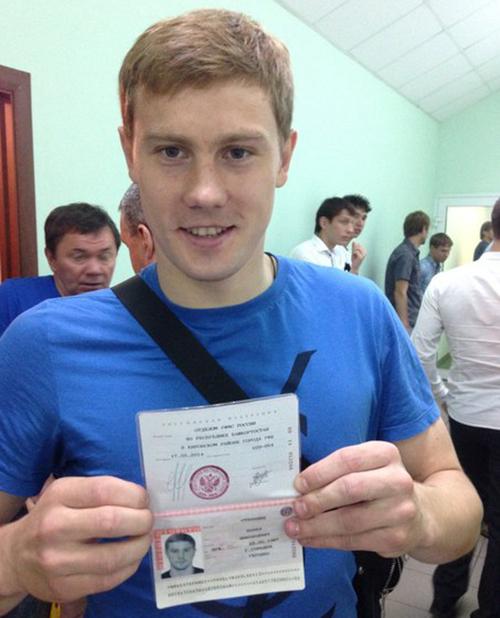 Украинский защитник Уфы стал гражданином России