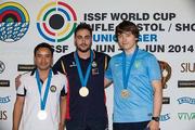 Украинец завоевал бронзу на этапе Кубка мира по стрельбе