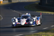 Ле-Ман: экипаж Toyota быстрейший на warm-up
