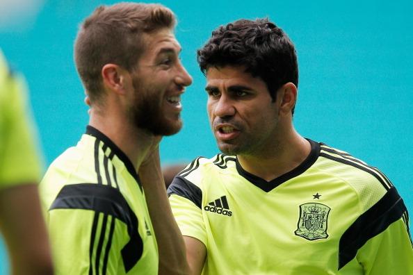 Испания - Голландия: стартовые составы команд
