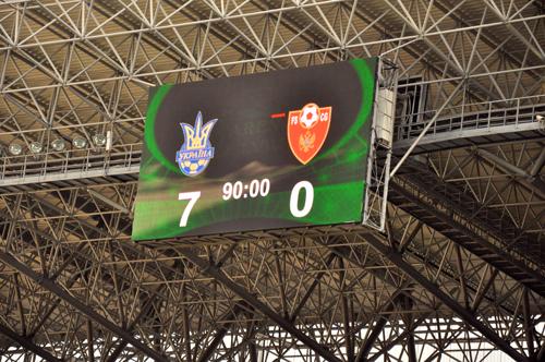 Україна – Чорногорія 7:0. Перший розгром є