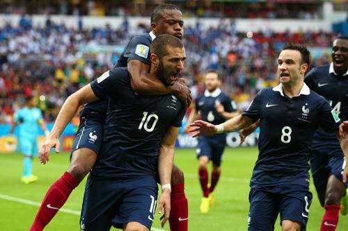 Франция без проблем обыгрывает Гондурас