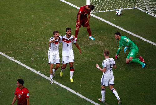 Германия - Португалия: А вы Роналду не видели?